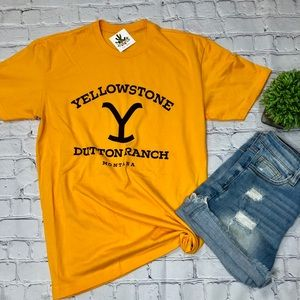 Yellowstone graphic tee